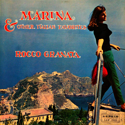 Sexy Marina Rocco Granata LP Cover