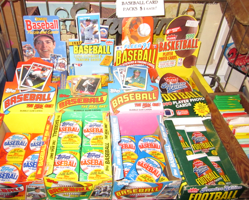 get Vintage Baseball Cards + Sports + Non-Sports Cards at What Cheer Records + Vintage in Providence