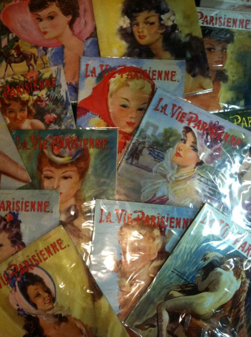 Just In at What Cheer are 1950s 'La Vie Parisienne French Pinup Magazines!
