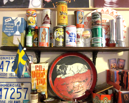 Vintage Antique Breweriana Beer Collectibles at What Cheer  in Providence