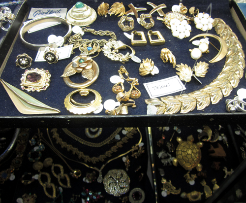 Vintage Costume Jewelry at What Cheer Records + Vintage in Providence