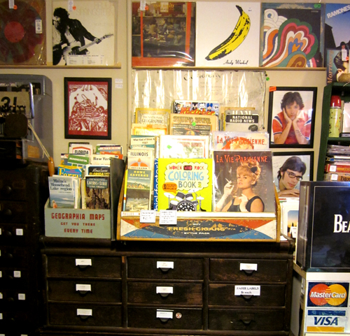 What Cheer Records + Vintage + Antiques in Providence