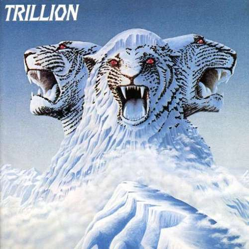 a 3-Headed Snow Mountain Cat on Trillion LP Album Cover