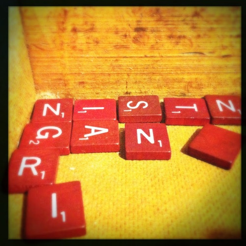 Your Missing Scrabble Tiles may be at What Cheer (Photo by Kim O'Brien)