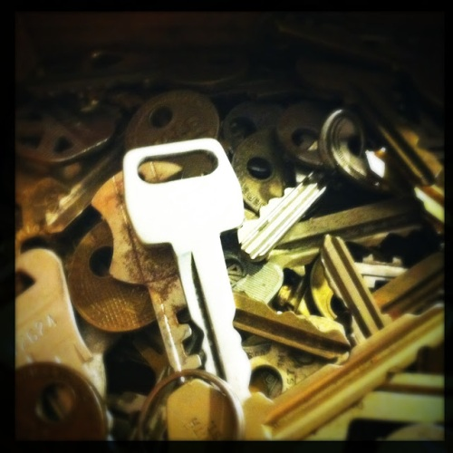 More Old Keys at What Cheer in Providence (Photo by Kim O'Brien)