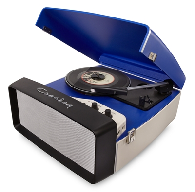 Crosley Collegiate Portable Record Player at What Cheer (available in Red, Purple + Blue)