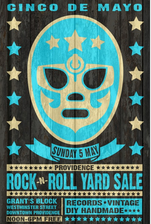 May 5th 2013 Cinco de Mayo Providence Rock And Roll Yard Sale