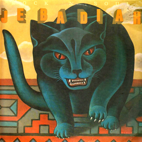 Jebadiah Rock 'N' Soul Album Cover with Cat