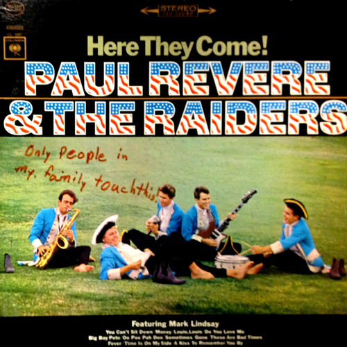 Someone's Special Rules for their Paul Revere + The Raiders Lp