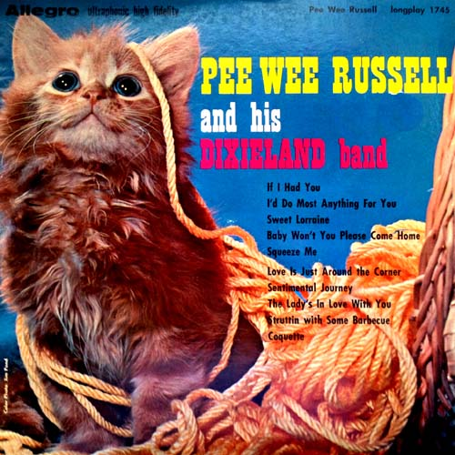 Pee Wee Russell Cat LP Cover