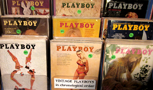 What Cheer in Providence Sells Vintage Playboy Magazines Playboys