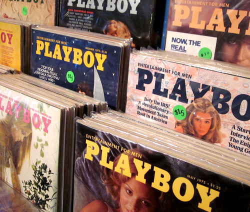 What Cheer Sells Vintage Playboy Magazines in Providence Playboys