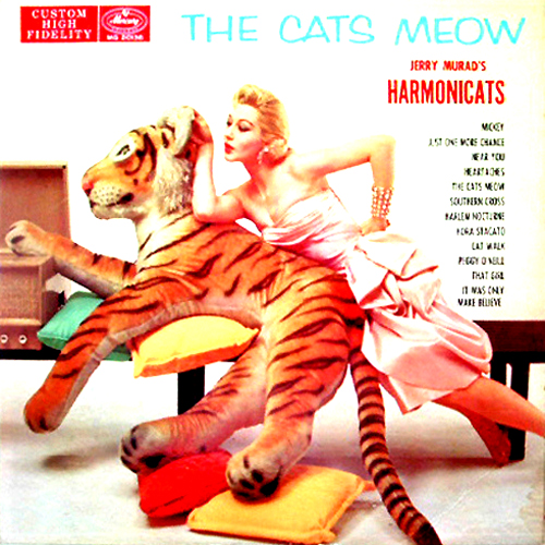 the Cats Meow Harmonicats LP Album Cover
