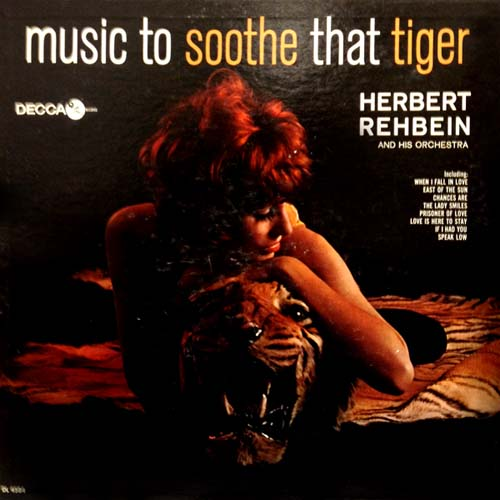 Herbert Regbein Music To Soothe That Tiger Cat Album Cover