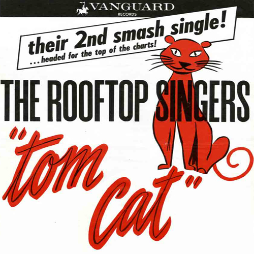 Rooftop Singers Tom Cat Record Cover