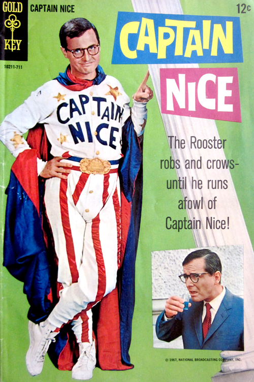 Captain Nice No. 1 1967 Comic Book