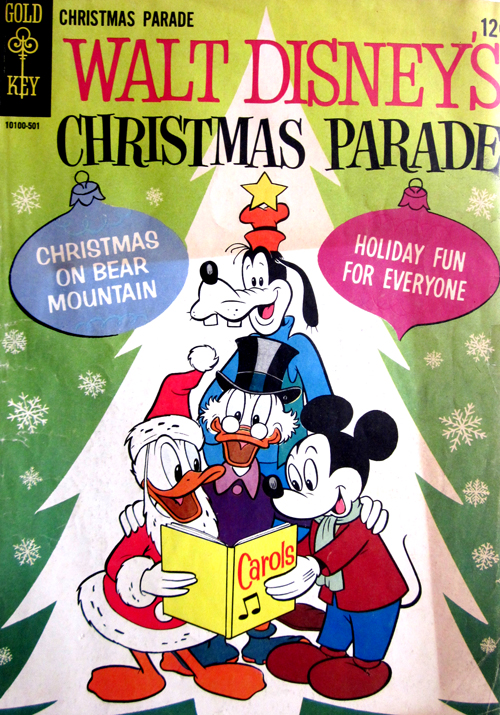 Christmas Parade No. 3 1964 Disney Comic Book