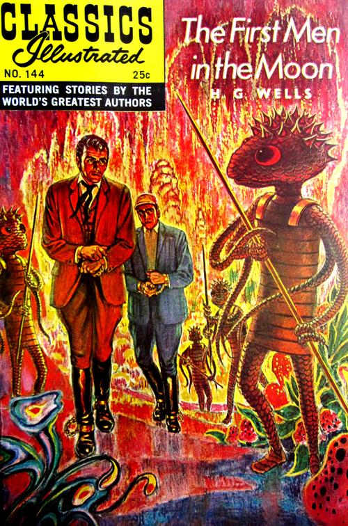 Classics Illustrated No. 144 1968 H. G. Wells Comic Book