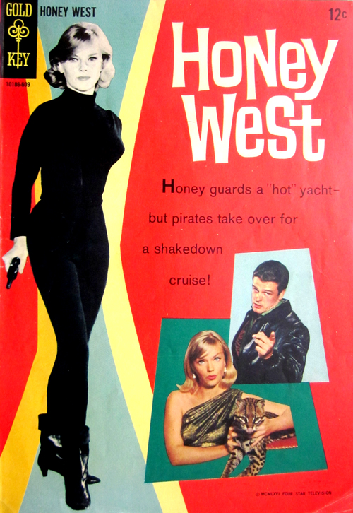 Honey West Vintage Comic Book at What Cheer in Providence
