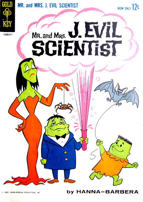Mr And Mrs J Evil Scientist Vintage Comic Book at What Cheer in Providence 4