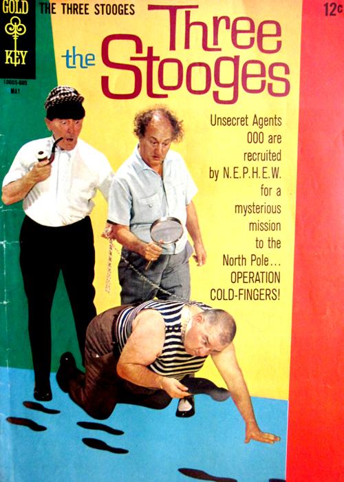 Three Stooges Vintage Comic Book