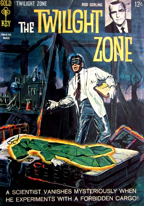 Twilight Zone No. 20 1967 Comic Book