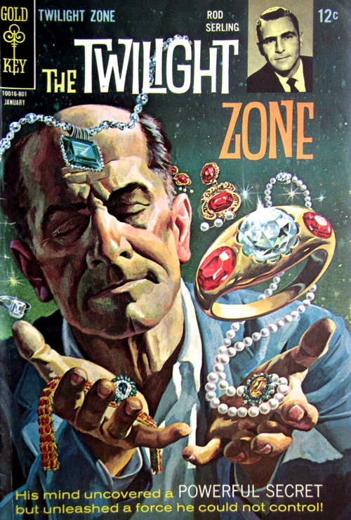 Twilight Zone No. 24 1968 Comic Book