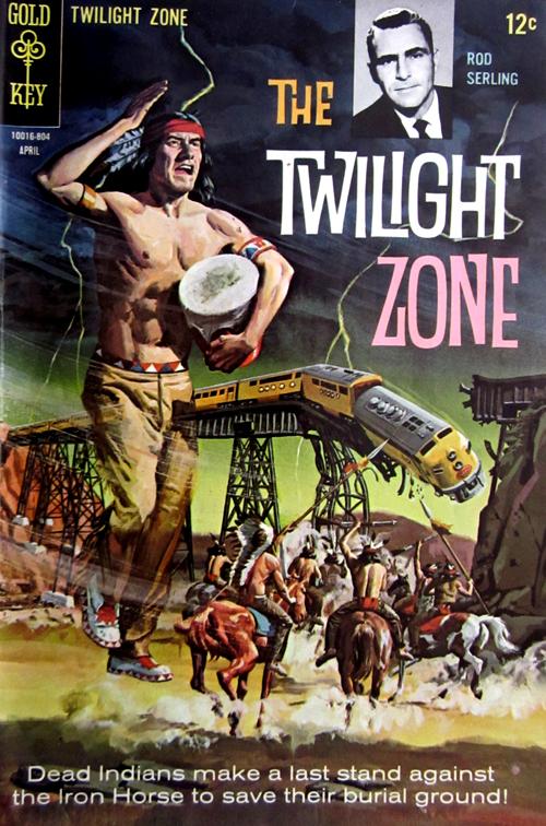 Twilight Zone No. 25 1968 Comic Book