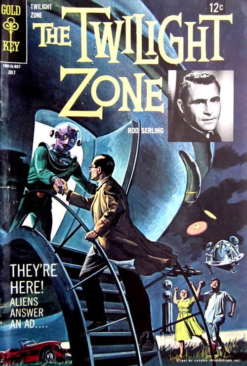 Twilight Zone No. 26 1968 Comic Book