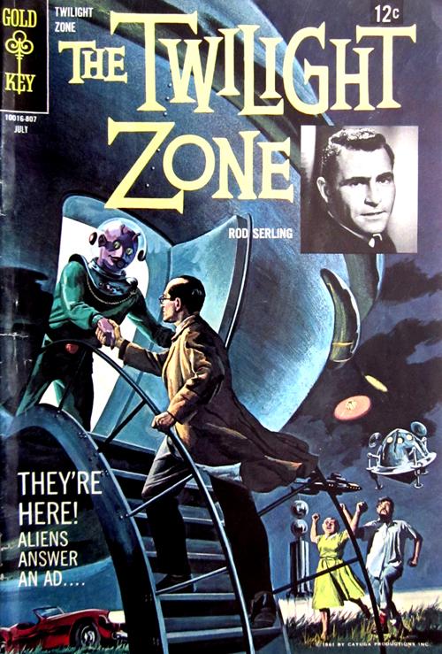 Twilight Zone No. 26 1968 Comic Book