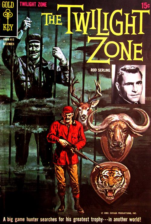 Twilight Zone No. 27 1968 Comic Book