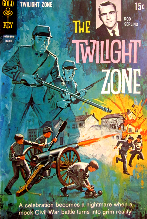 Twilight Zone No. 28 1968 Comic Book