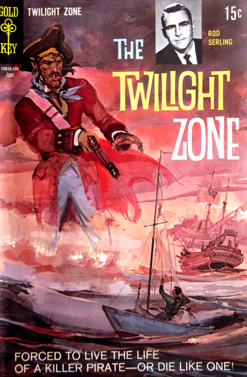 Twilight Zone No. 29 1969 Comic Book