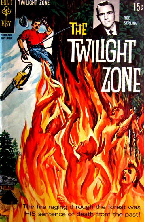 Twilight Zone No. 30 1969 Comic Book