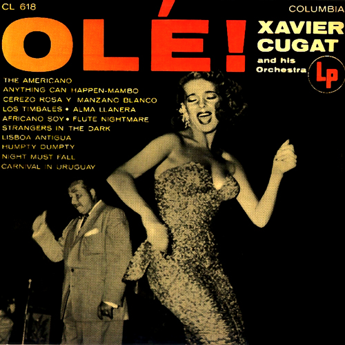 Xavier Cugat Ole LP Cover Version No. 2