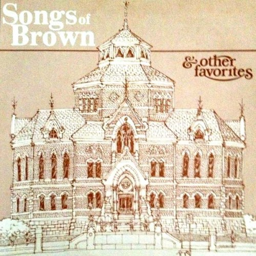 Songs Of Brown University Vinyl LP Record with David MaCaualay Cover Artwork