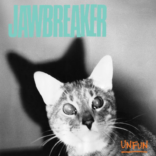 jawbreaker unfun record cover artwork photo with cat on it