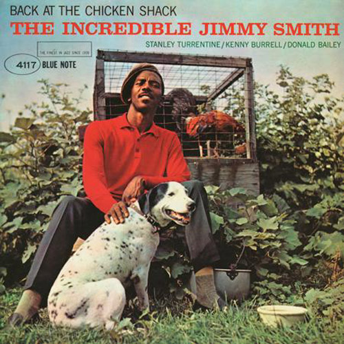 jimmy smith back at the chicken shack get it on vinyl LP record album at what cheer in providence