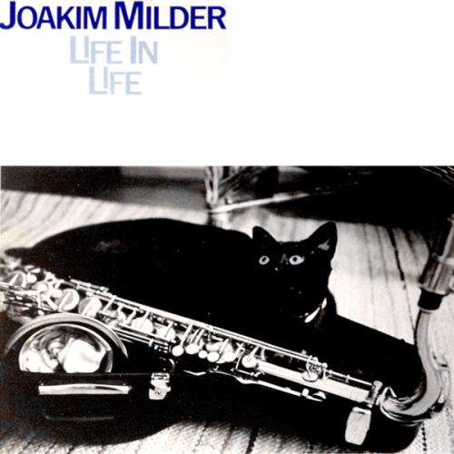 joakim milder life in life lp cover with cat