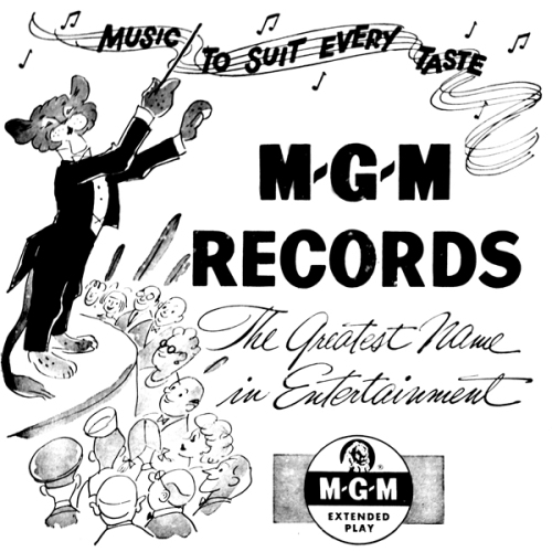 mgm logo cover with cat album