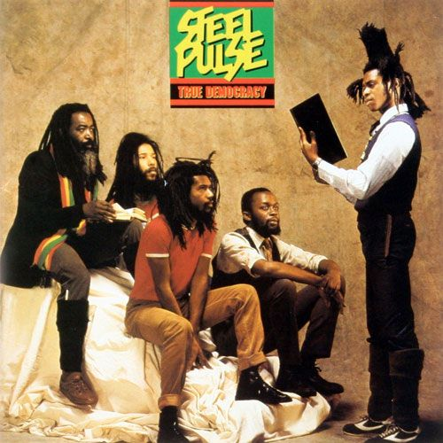steel pulse true democracy on Vinyl LP Records get it at What Cheer in Providence