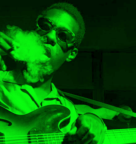 Jazz Guitar Great Grant Green Glamorizing Cigarettes