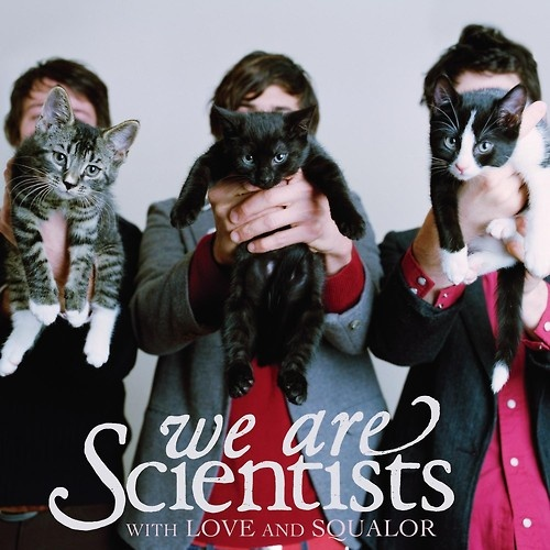 We Are Scientists With Love And Squalor LP Record Album Cat Cover Cats