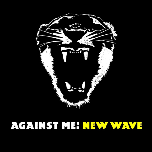 Against Me New Wave LP Record Album Cover with Cat Tiger Art