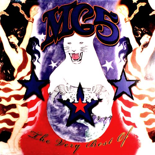 the Very Best of MC5 Lp Record album cover with cat artwork