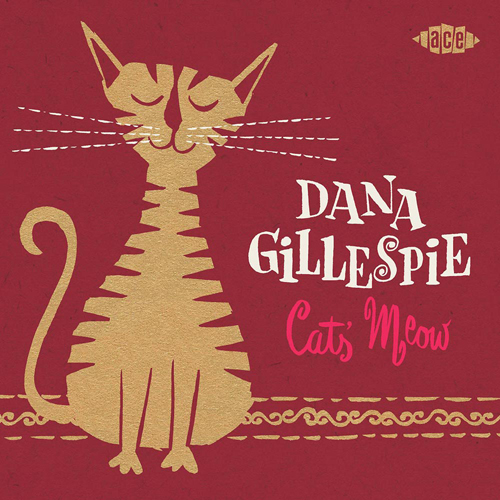 dana gillespie cat's meow cd album cover with cat artwork