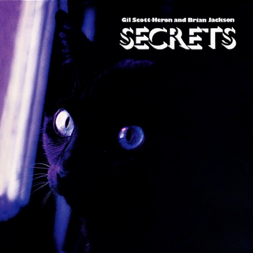 Gil Scott-Heron And Brian Jackson Secrets 1978 LP Record Album with Cat Cover Artwork