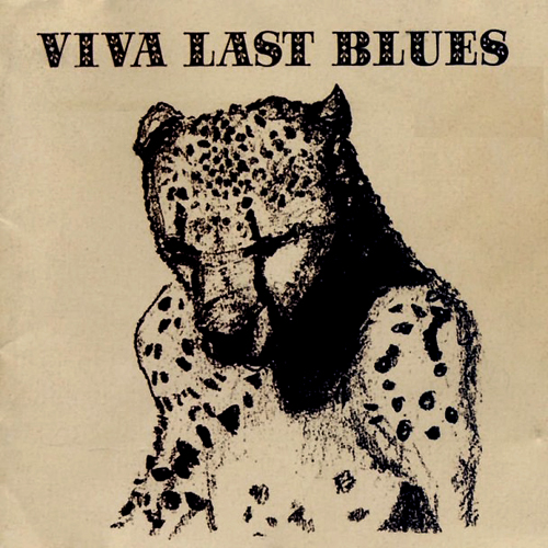 Palace Music Viva Last Blues lp album cover with cat artwork