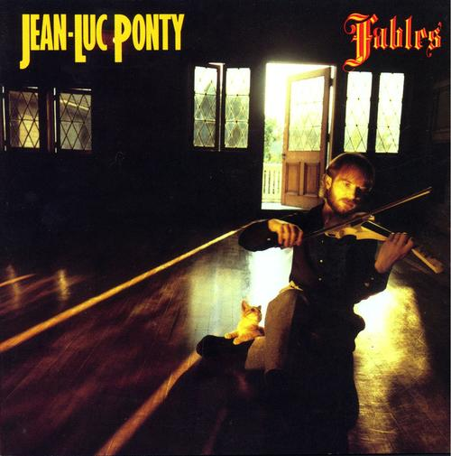 jean-luc ponty Fables lp record album with cat cover art