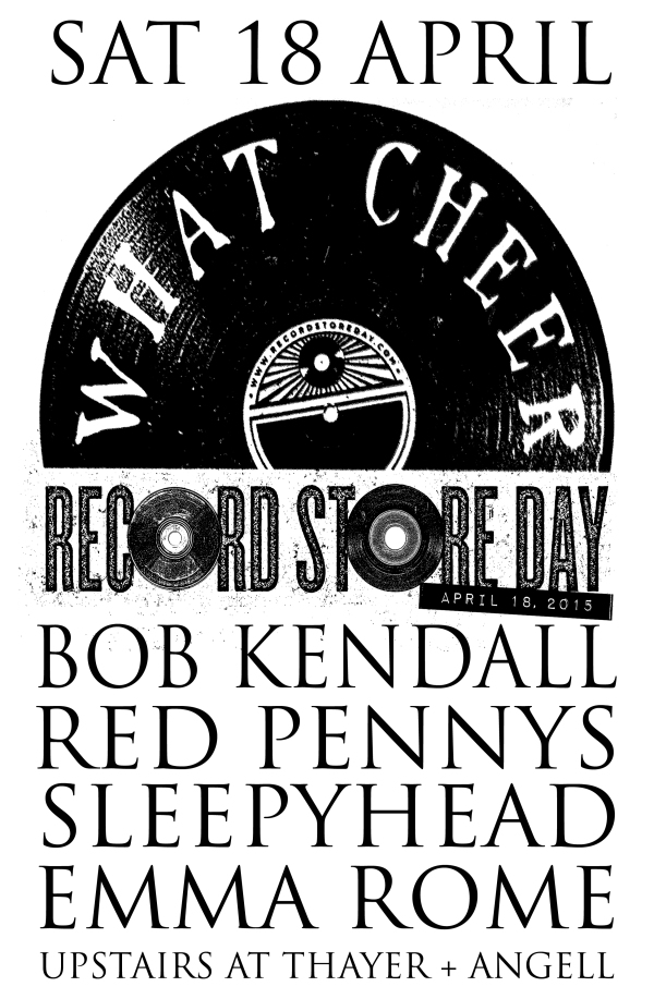 Celebrate Record Store Day 2015 at What Cheer Records and Vintage in Providence Rhode Island Live Music and More